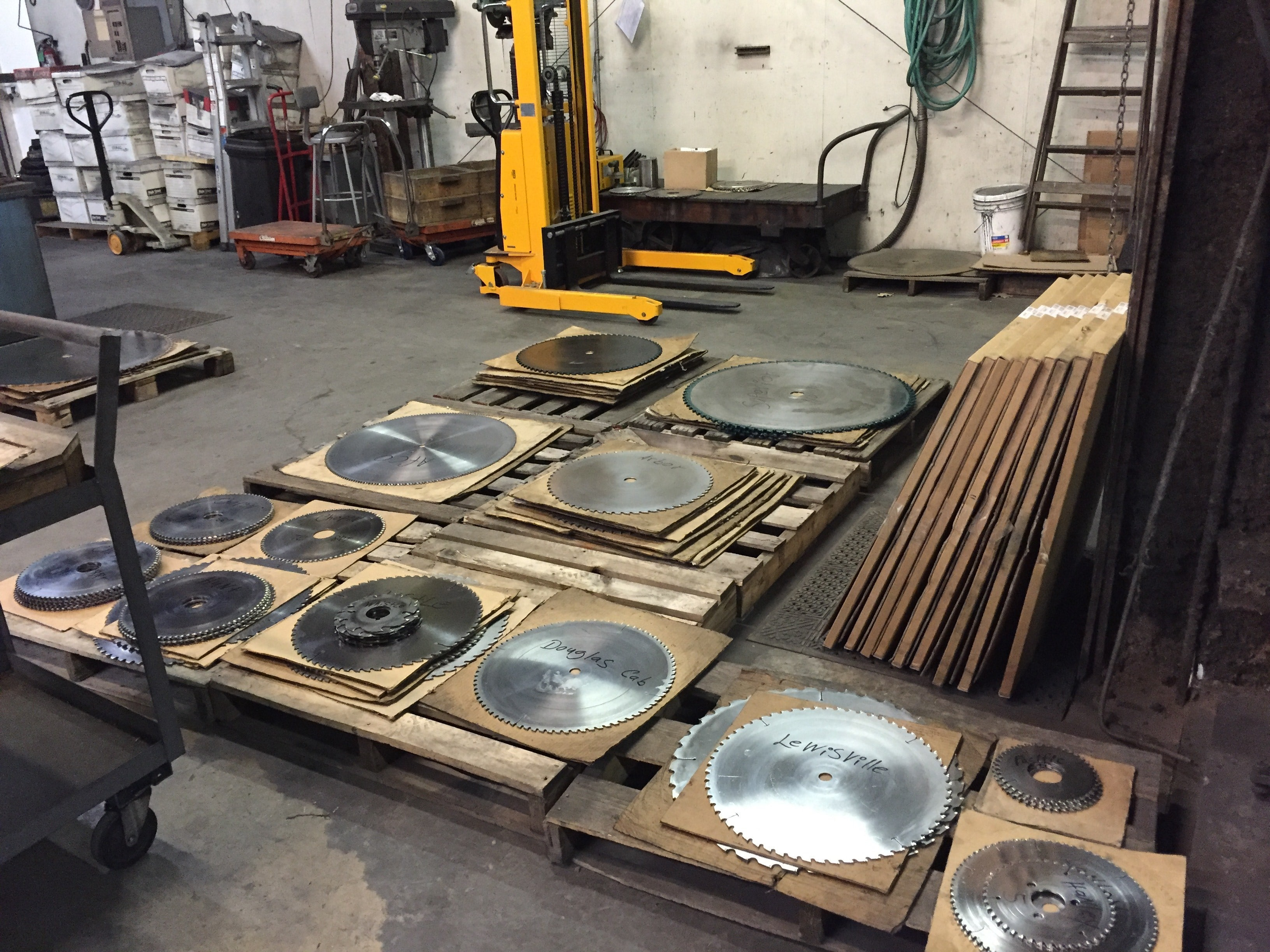 Saw Blades Inventory Control and Management | Southern Carbide